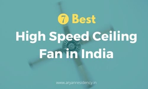 High Speed Ceiling Fan in India(1)