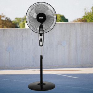 ANSIO High Speed Pedestal Fan with 2 Hour Timer 400 mm