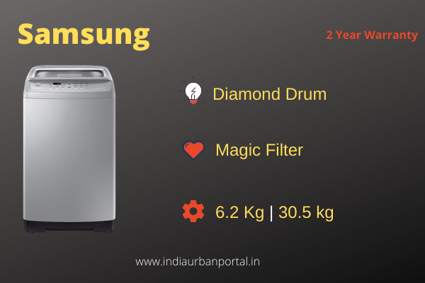 Samsung 6.2 kg Fully-Automatic Top load Washing Machine
