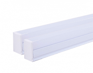 Rosette 20-Watt LED Tube-Light Cool White Pack of 2, Includes Wall-Mount for Indoor and Outdoor Setup.